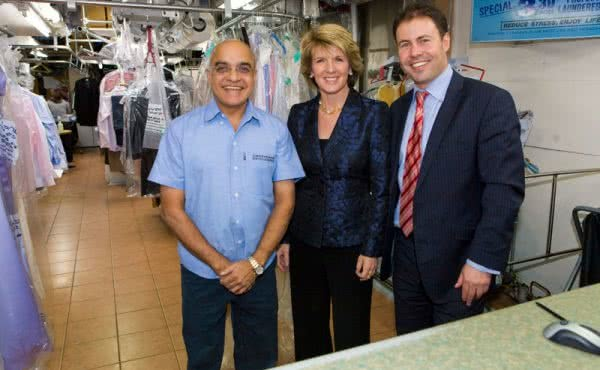 Deputy Leader Julie Bishop Visits Kooyong