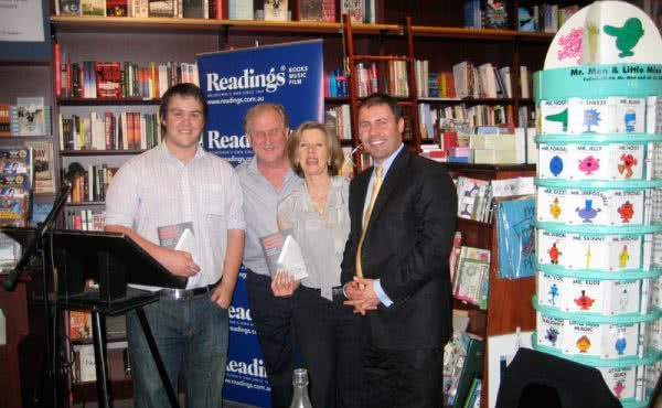 Joining Kevin Donnelly at his book launch in Hawthorn