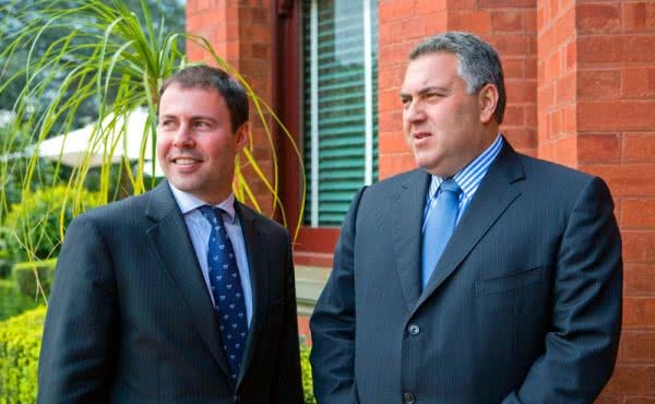 Shadow Treasurer Joe Hockey Visits Kooyong