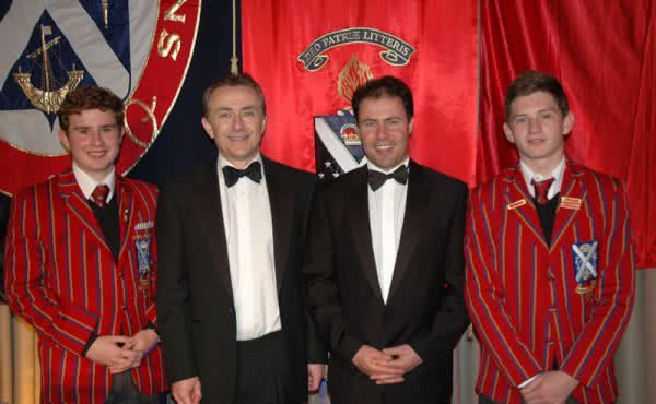 Attending Scotch College's Annual Dinner