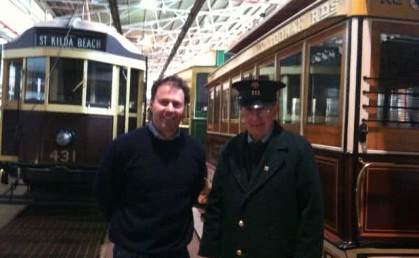 Visiting the Tram Museum at Hawthorn Depot