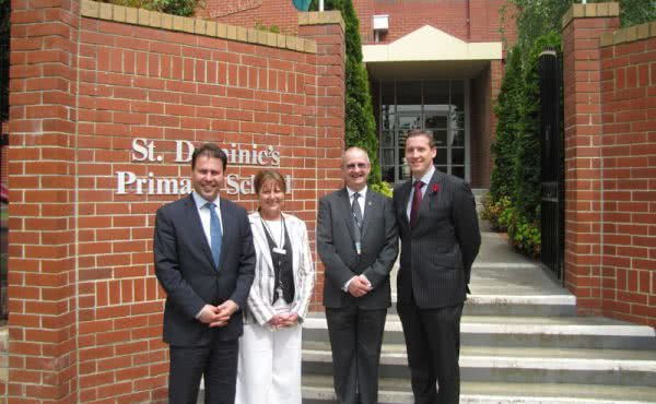 Visit to St Dominic's Primary School, Camberwell East