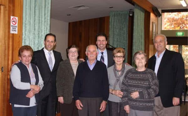 Visit to North Balwyn Greek Senior Citizens Club