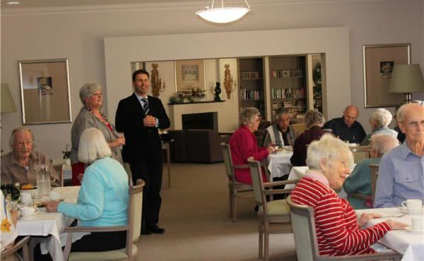 Visit to Camberwell Green Retirement Village for Seniors Week