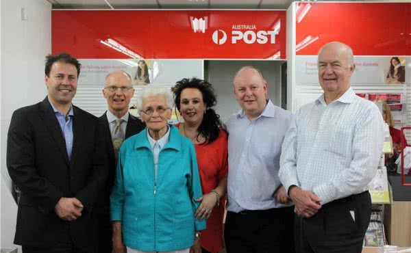 Opening of Balwyn Post Office