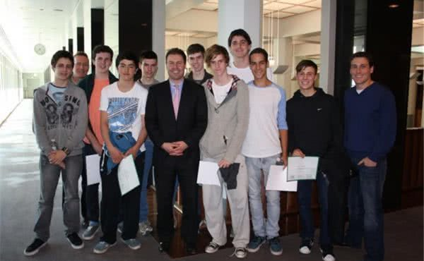 Xavier College visits Parliament House
