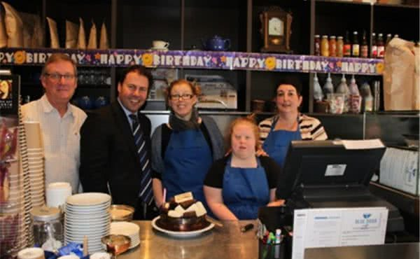 Blue Door Cafe's First Birthday