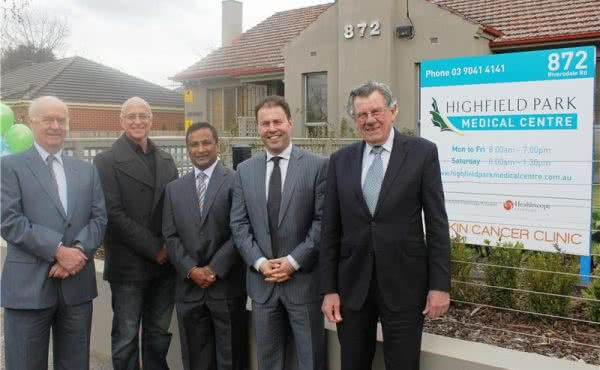 Opening Highfield Park Medical Centre