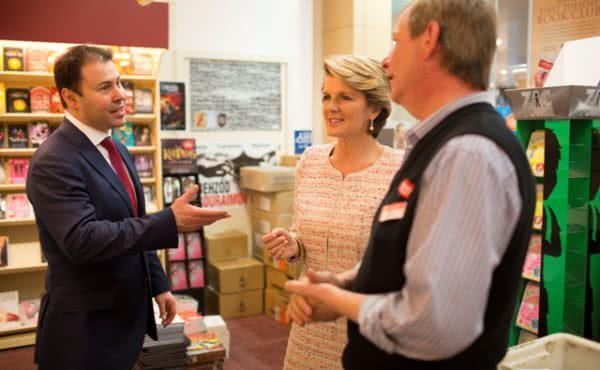 Julie Bishop visits Kooyong