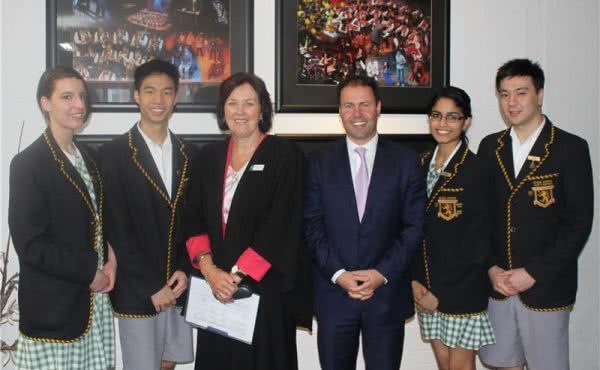 Visit to Balwyn High School