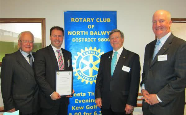 Rotary Club of North Balwyn Breakfast Briefing
