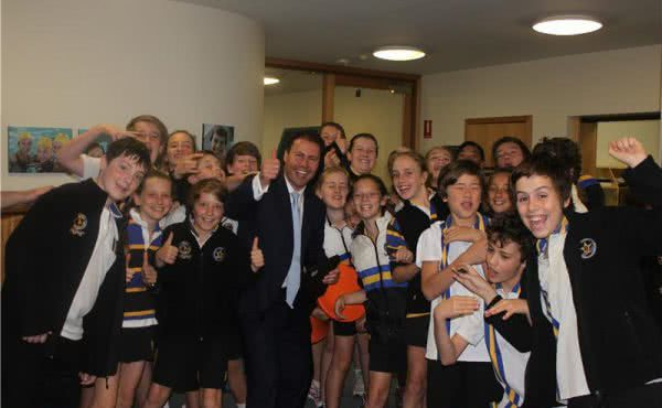 Visit to Carey Grammar