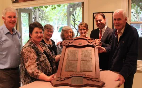 Surrey Hills Neighbourhood Centre receives grant to restore First World War Honour Board
