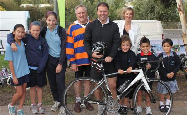 National Ride2School Day at Balwyn North Primary