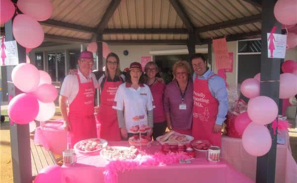 Boroondara Netball Association for Pink Day