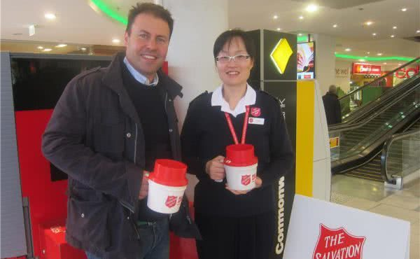 Salvation Army Red Shield Appeal in Camberwell