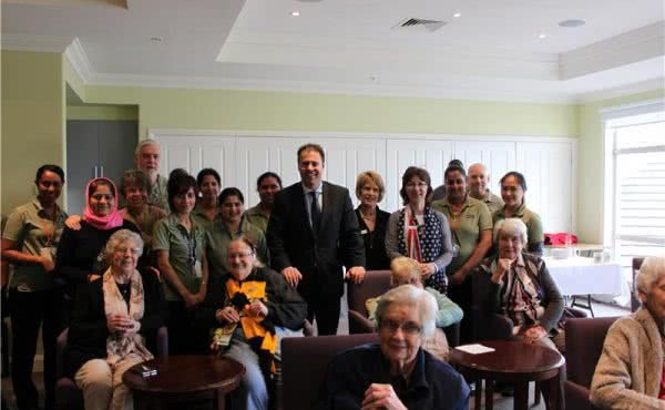 Visit to Hedley Sutton Community Aged Care