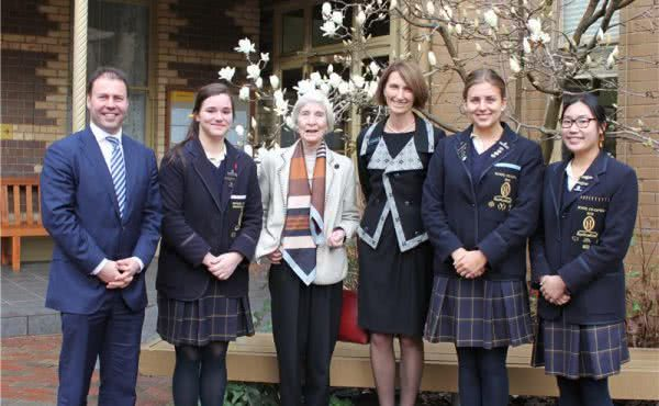 Special Assembly at Ruyton Girls' School