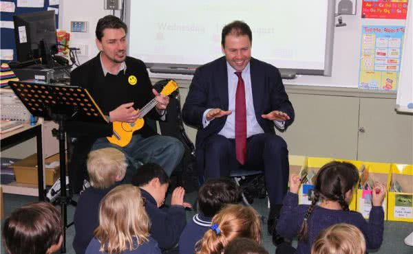 Glenferrie Primary School 'Principal for a Day'