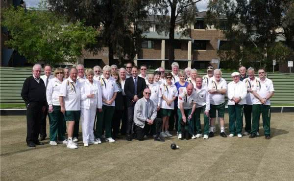 Auburn Bowls Club Opening of the Green