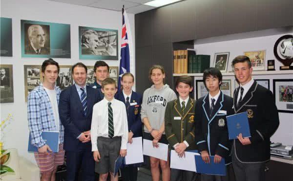 Local Sporting Champions Grant Winners Afternoon Tea