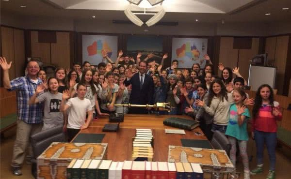 Bialik College visits Parliament House