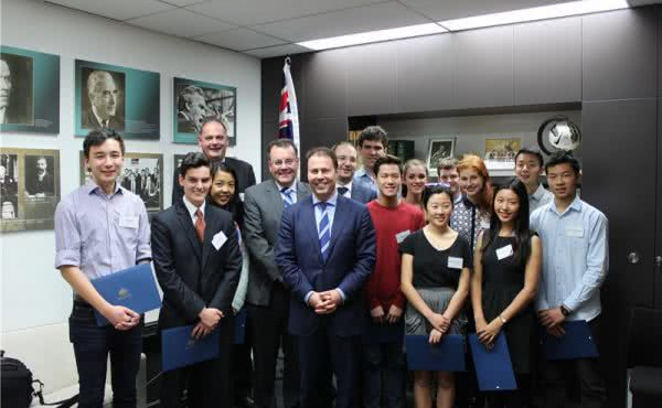 Australian Student Prize Winners Afternoon Tea