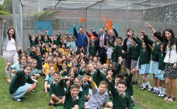 New Cricket Nets at St Bede's Primary