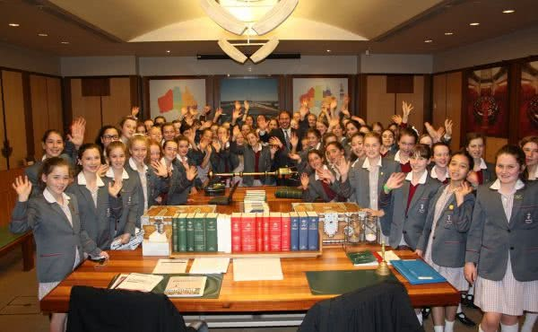 Genazzano FCJ College Visit to Parliament House