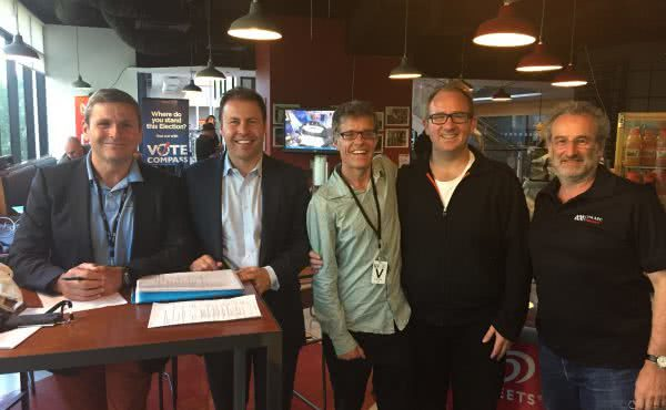 2014 Victorian State Election count with Jon Faine