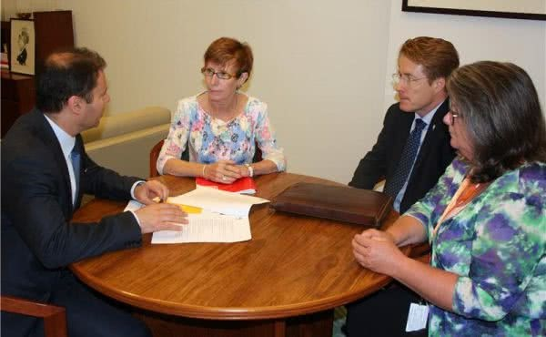 Meeting with National Coalition for Suicide Prevention