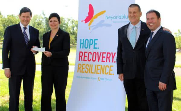 Mental health the big winner following donation from Sir Robert Menzies Dinner