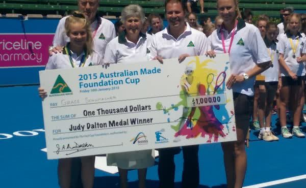 Tennis Prize Winners at Kooyong