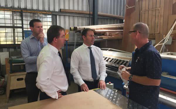 Josh visits the Sunshine Coast to discuss red tape and small business