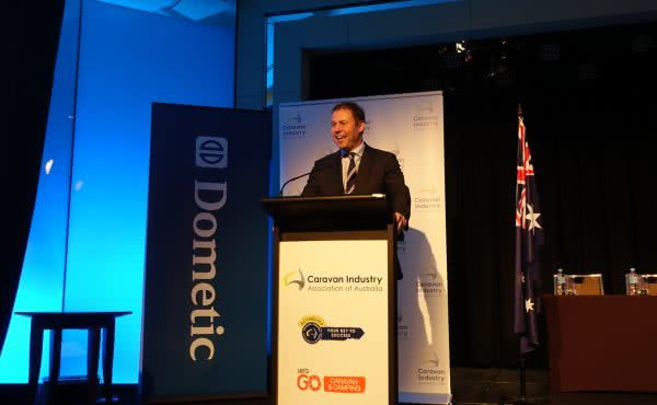 Opening of the 2015 Caravan Industry Association of Australia National Conference