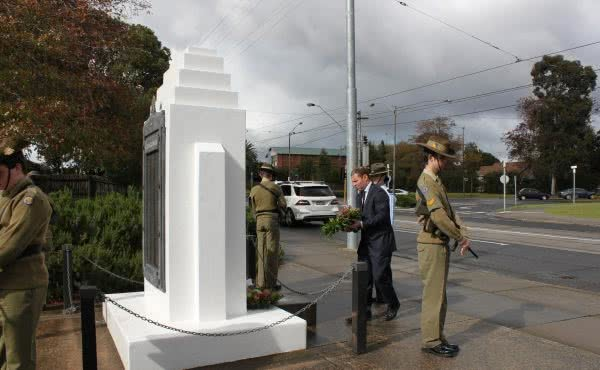 Camberwell City RSL Anzac Day Service – Centenary of Anzac