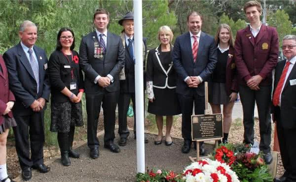 ANZAC Centenary Service at Kew High School