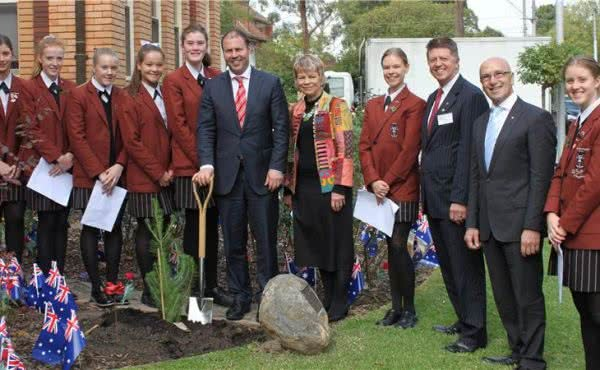 ANZAC Commemorative Service at Siena College