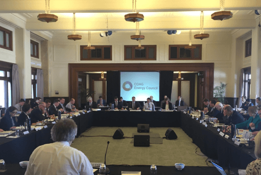 COAG Energy Council Meeting
