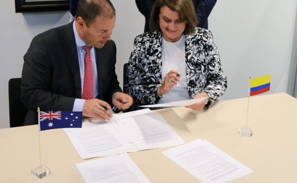 Memorandum of Understanding with Colombia