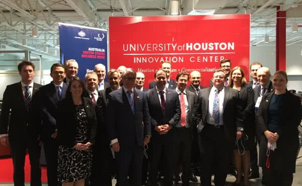 Leading an Australian business delegation in the United States