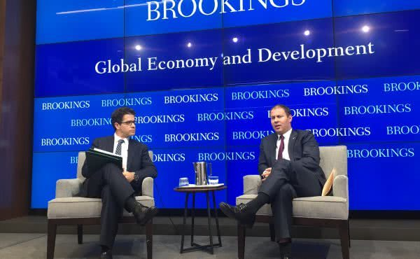 Address to the Brookings Institute in Washington DC