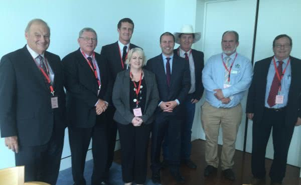 Meeting with Minister O'Rourke and North Queensland Mayors