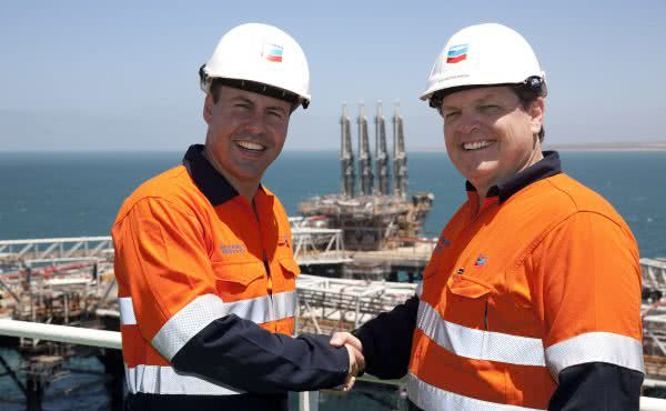 Gorgon LNG project in Western Australia