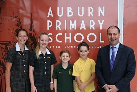 Auburn Primary School assembly and leadership awards