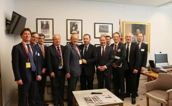 Meeting with the Movement of the Enterprises of France
