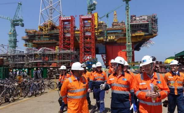 Inspecting Australia's future LNG infrastructure in South Korea