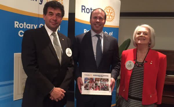 Address to Rotary Club of Camberwell
