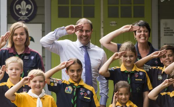 Visit to 4th Kew Scout Group