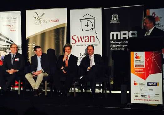 Swan Chamber of Commerce forum